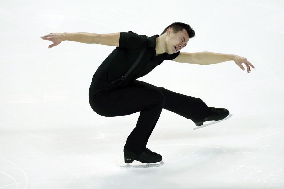 Patrick Chan participera cette semaine au Championnat des... (Photo Christophe Ena, AP)