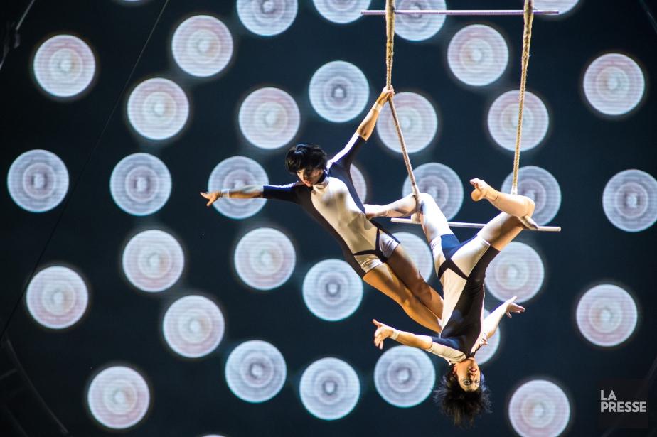 Le Cirque du Soleil espère en mettre plein... (Photo archives La Presse)