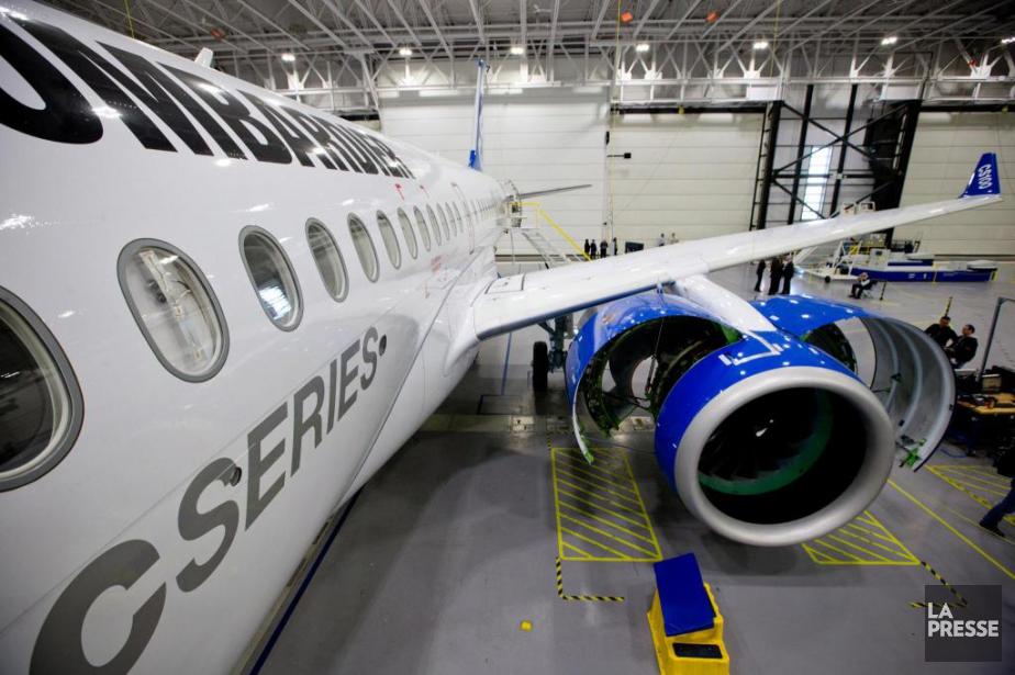 Boeing allègue que Bombardier avendu ses avions CSeries... (PHOTO DAVID BOILY, ARCHIVES LA PRESSE)