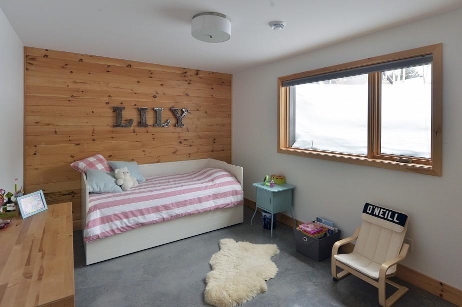 La chambre de Lily, au sous-sol | 15 février 2017
