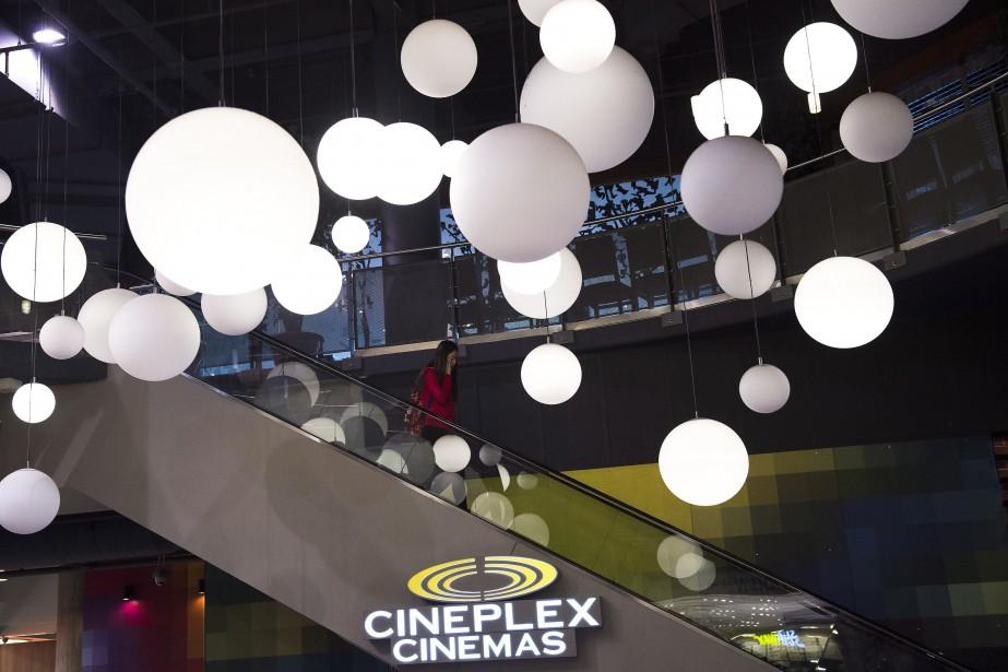 Cineplex a fait état d'un déclin de 12%... (Photo Nathan Denette, La Presse canadienne)