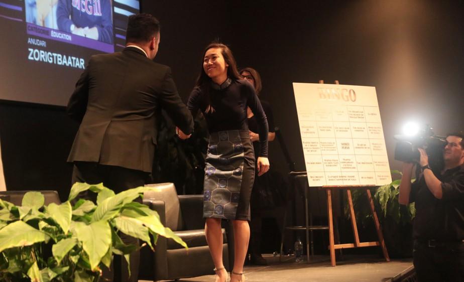Anudari Zorigtbaatar, Personnalité de l'année dans la catégorie Éducation | 15 février 2017