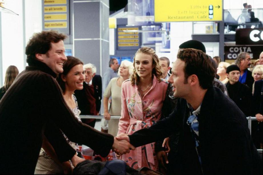 Colin Firth, Lucia Moniz, Keira Knightly et Andrew... (Photo fournie parUniversal Studios)