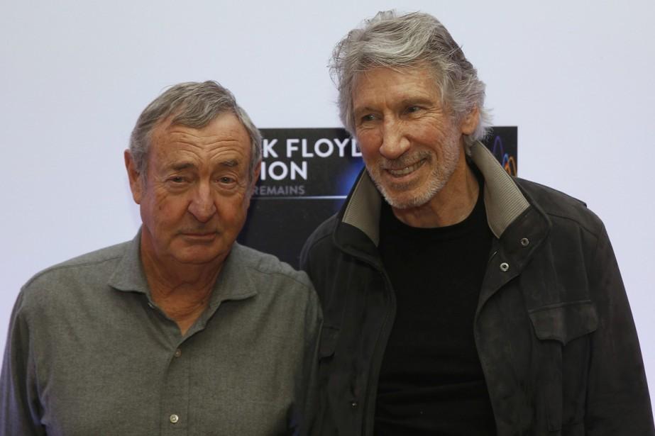 Nick Mason et Roger Waters du groupe Pink... (PHOTO REUTERS)