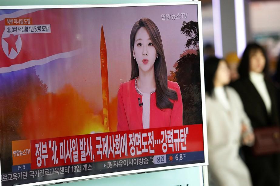 La Corée du Nord a testé le missile... (Photo Kim Hong-Ji, archives REUTERS)