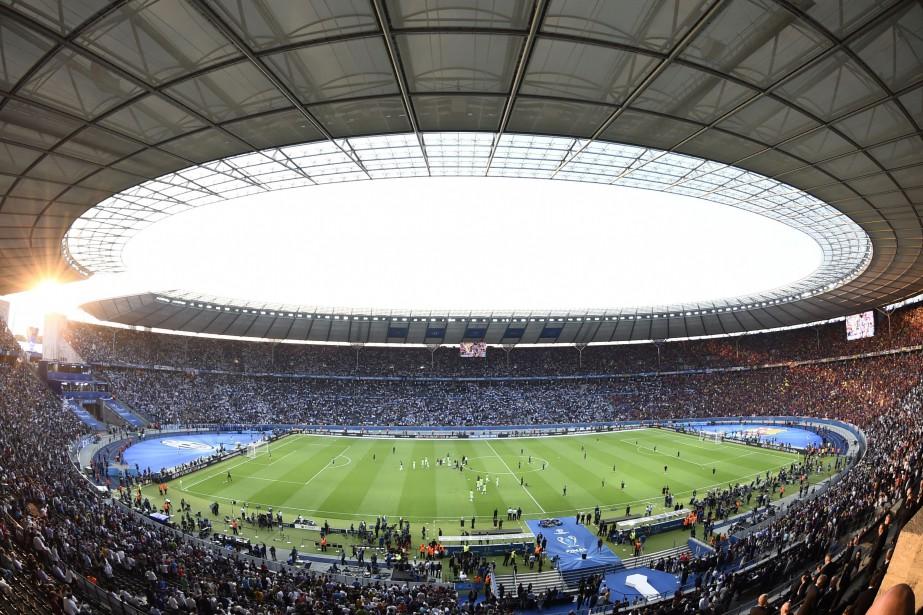 Le stade olympique de Berlin... (Photo Odd Andersen, archives AFP)