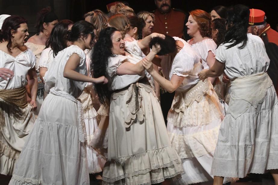 L'opéra Carmen de Bizet sera présenté samedi à 19h30 au Théâtre Banque Nationale, ainsi que dimanche à 14h. (Photo Le Quotidien, Michel Tremblay)