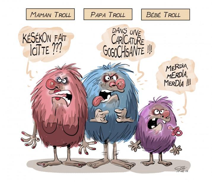 Caricature du 18 février | 17 février 2017