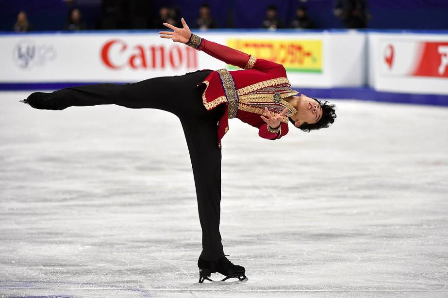 Nathan Chena établi de nouvelles marques internationales en... (PHOTO KIM DOO-HO, AFP)