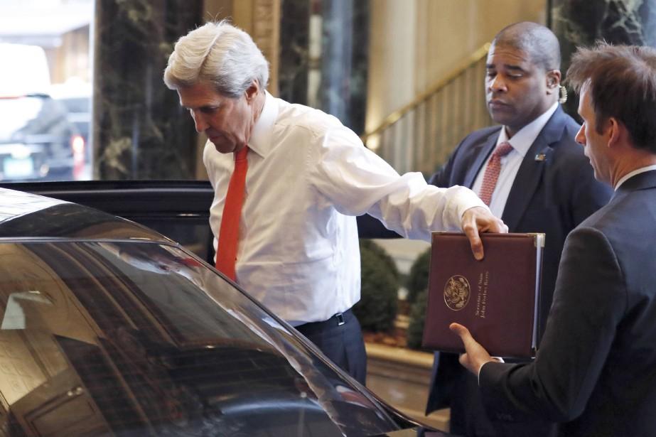 Selon le journal israélien, John Kerry - qui... (REUTERS)