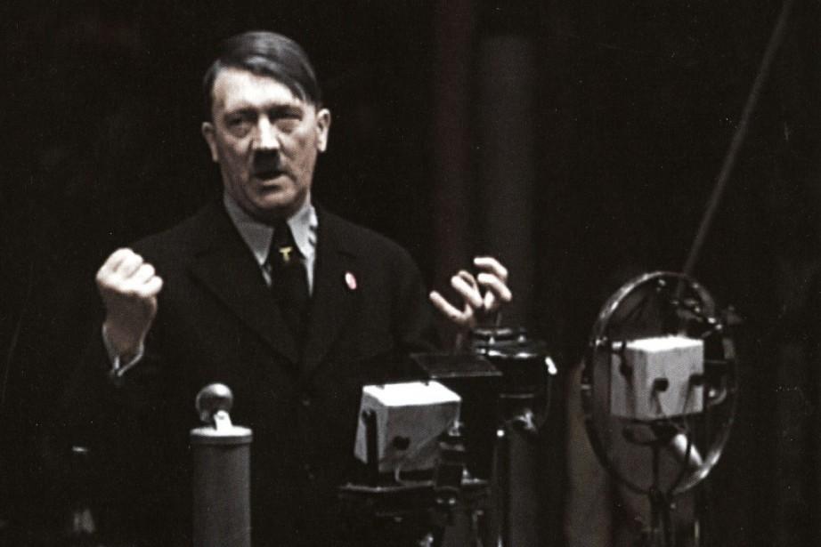 La maison de vente a refusé de donner... (Photo tirée du livre Apocalypse Hitler)