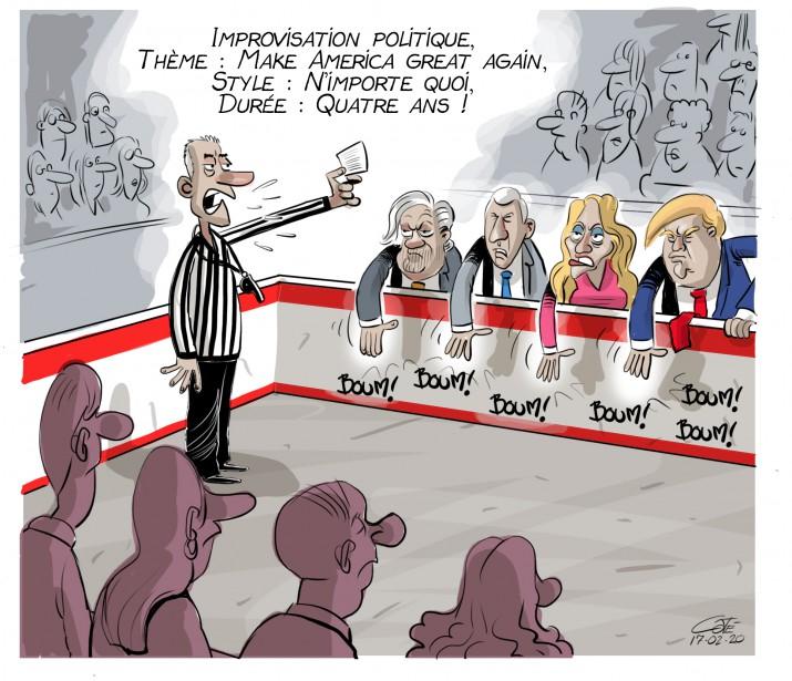 Caricature du 20 février | 19 février 2017