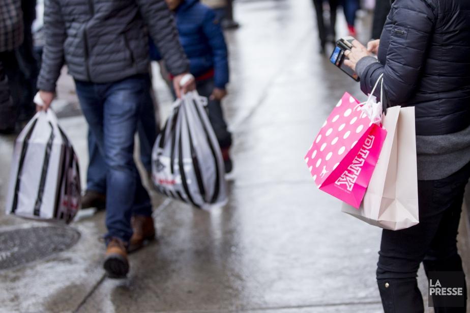 Les ventes au détail de l'an dernier ont... (Photo Marco Campanozzi, archives La Presse)