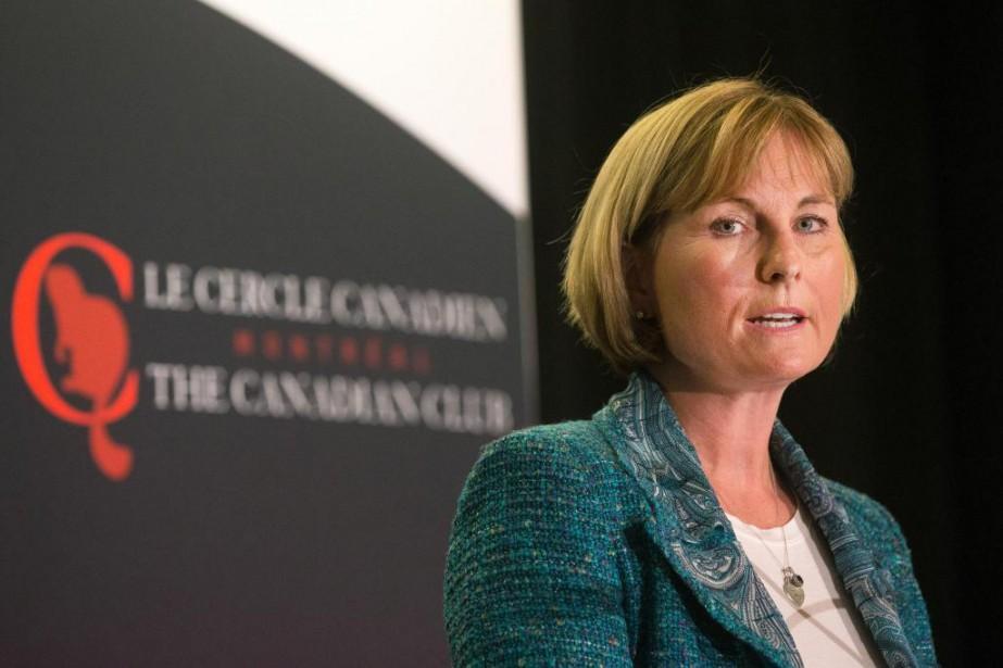 Madeleine Paquin, présidente et chef de la direction... (PHOTO ROBERT SKINNER, LA PRESSE)
