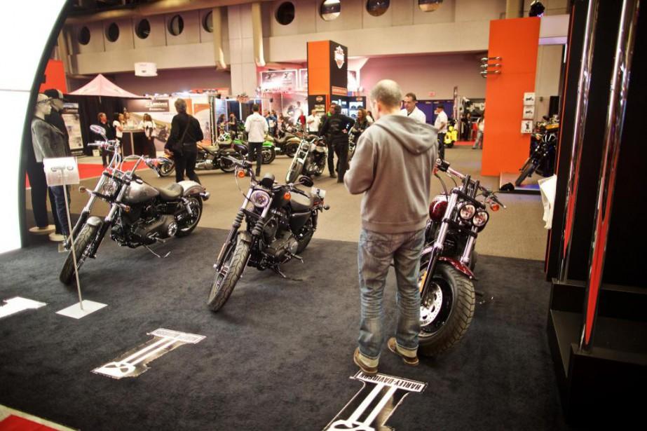 Le Salon de la moto de Montréal aura... (PHOTO ANDRÉ PICHETTE, ARCHIVES LA PRESSE)