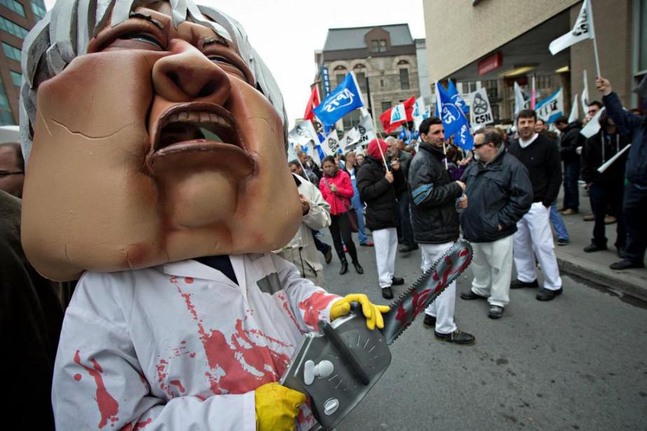 Les travailleurs de la santé doivent choisir leur... (Photo Patrick Sanfaçon, Archives La Presse)