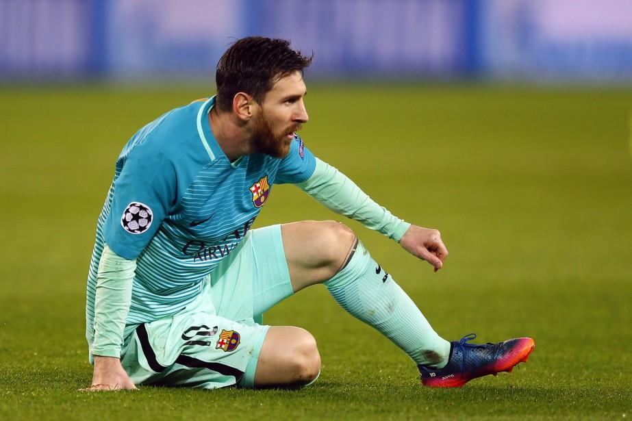 Lionel Messi... (Photo François Mori, AP)