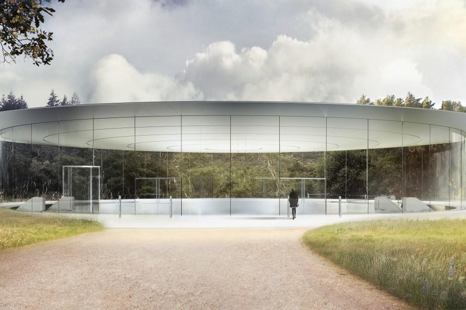 Le nouveau campus s'étend sur plus de 70... (Illustration fournie par Apple)