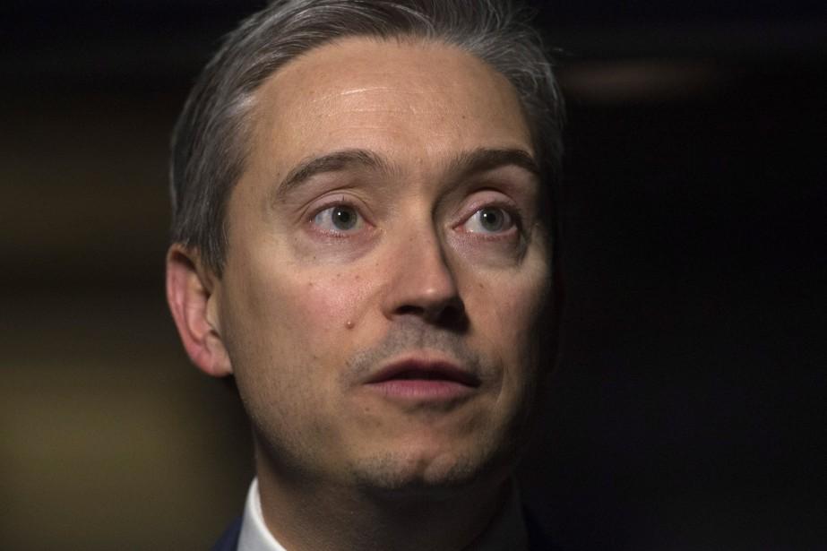 Le ministre du Commerce international, François-Philippe Champagne... (Photo Adrian Wyld, archives La Presse canadienne)