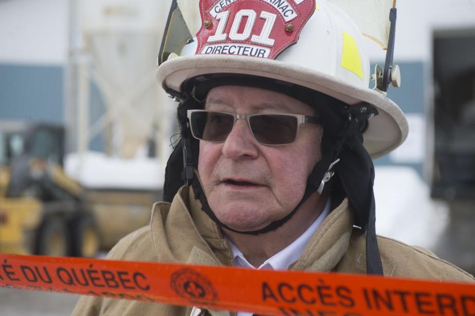 Le directeur du service de sécurité incendie du Centre-Mékinac, René Tourigny. | 22 février 2017