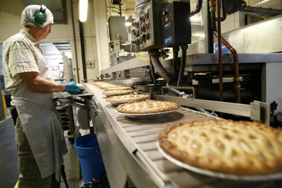 Pâtisserie Gaudet a décidé d'investir dans la construction... (PhotoJanick Marois, La Voix de l'Est)