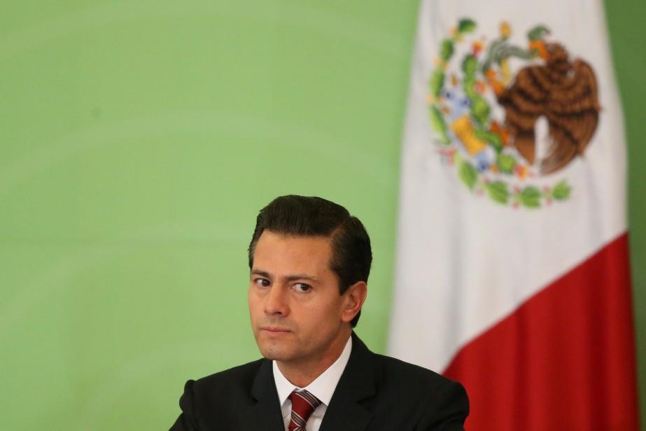 Le président mexicain Enrique Peña Nieto doit recevoir... (Photo Edgard Garrido, Archives REUTERS)