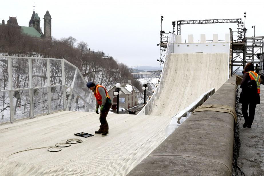 Dès le départ, les patineurs atteindront une vitesse de 70km/h. | 23 février 2017