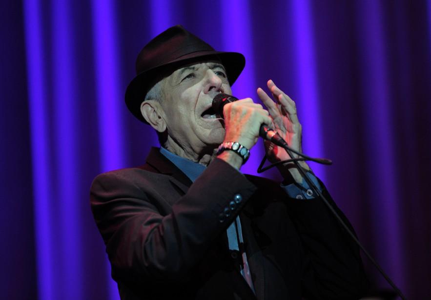 Leonard Cohen... (Archives AFP, Josep Lago)