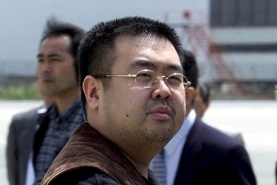 Kim Jong-Nam en 2001... (Photo archives AP)