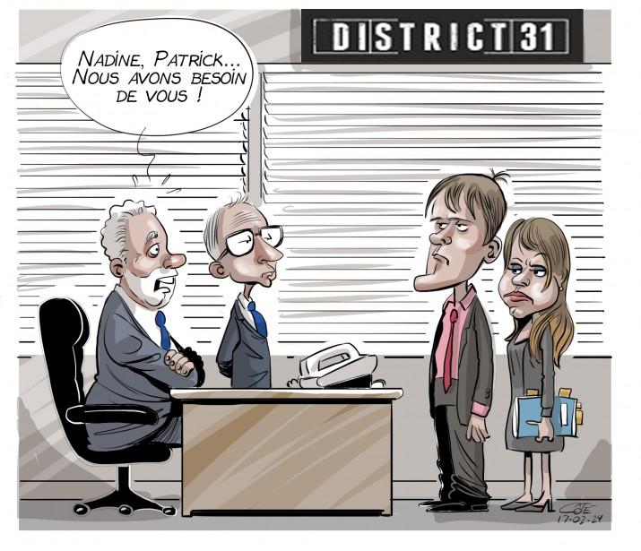 Caricature du 24 février | 23 février 2017