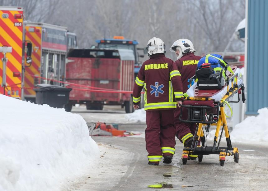 La victime a été transportée à l'hôpital pour constater le décès. | 23 février 2017