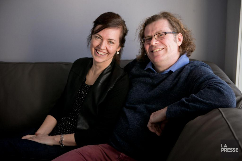 Kathryn Peterson et Stéphane Roy ont encore une... (Photo David Boily, La Presse)