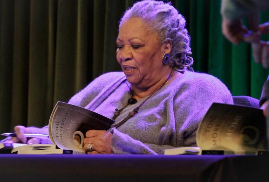Toni Morrison... (photoBebeto Matthews, archives associated press)