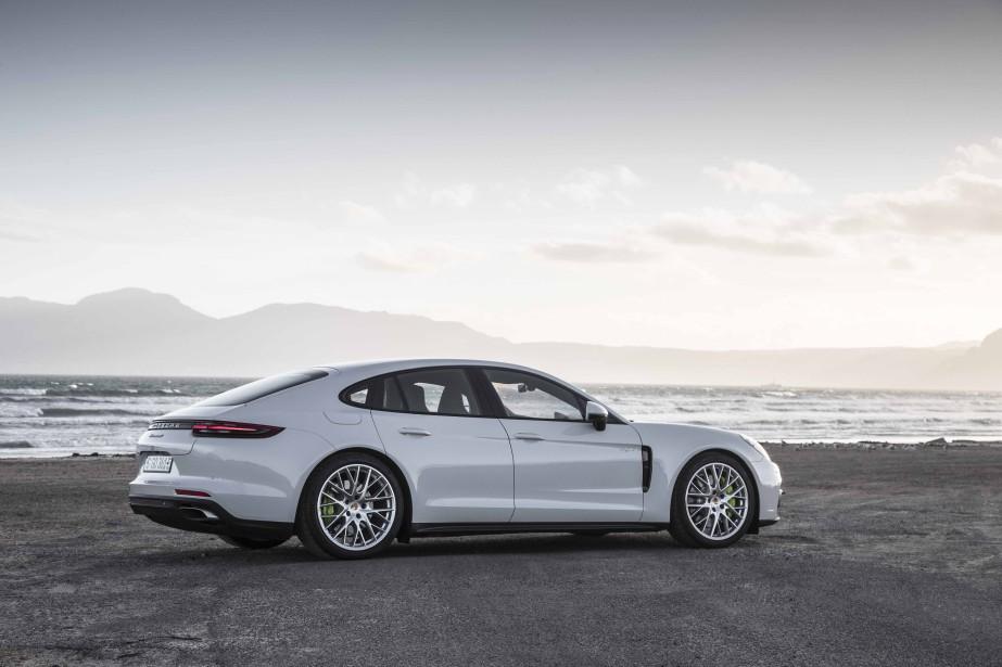 Porsche Panamera Hybrid - Banc d'essai ƒric Lefranois 20 fŽvrier 2017 - CŽrdit: Porsche (Photo : Porsche)