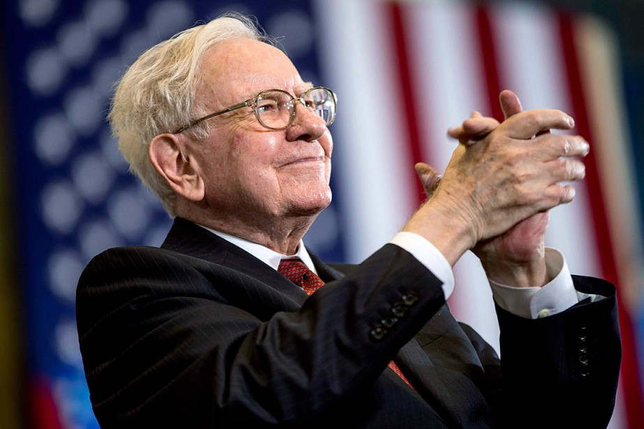 Le milliardaire Warren Buffett... (Photo Andrew Harnik, archives AP)