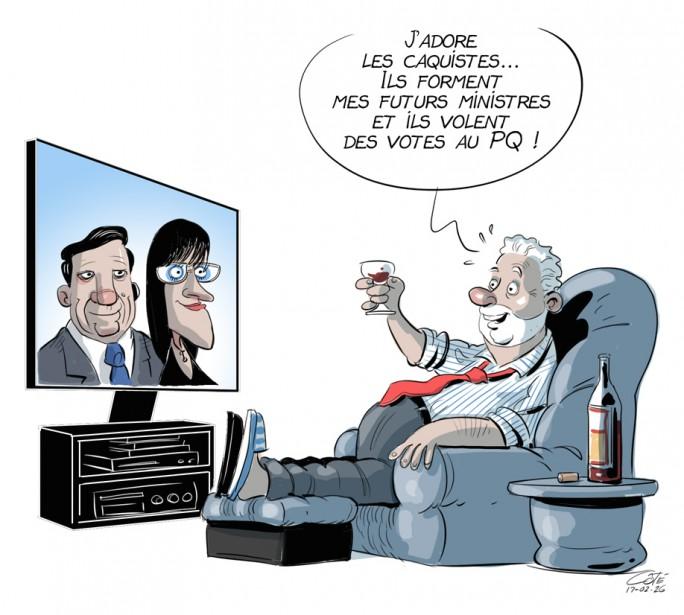 Caricature du 26 février | 25 février 2017