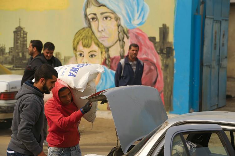 L'Office de secours et de travaux des Nations... (PHOTO AFP)