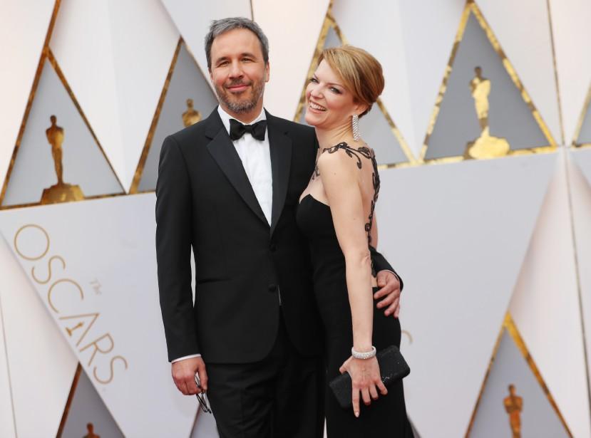 Denis Villeneuve et Tanya Lapointe. (REUTERS)