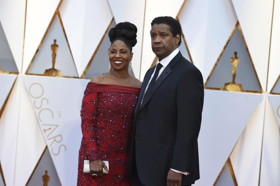 Denzel Washington et sa femme Pauletta. (AP)