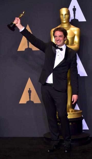 Le Québécois Sylvain Bellemare a remporté l'Oscar du meilleur montage sonore pour le film L'arrivée de Denis Villeneuve. | 26 février 2017