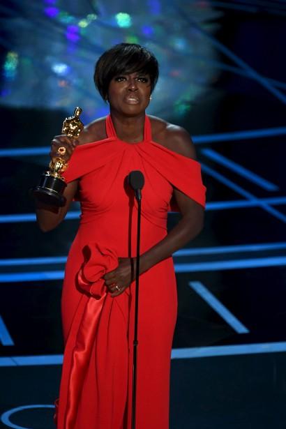 Viola Davis a remporté l'Oscar de la meilleure actrice de soutien pour Fences. | 26 février 2017