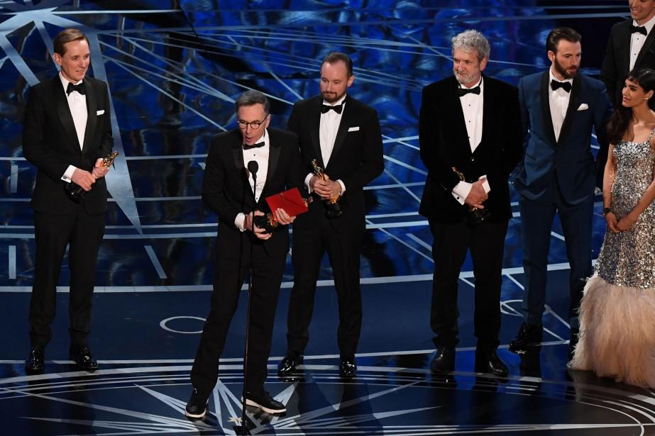 L'Oscar du meilleur mixage sonore est allé à l'équipe de <em>Hacksaw Ridge</em>. (AFP)