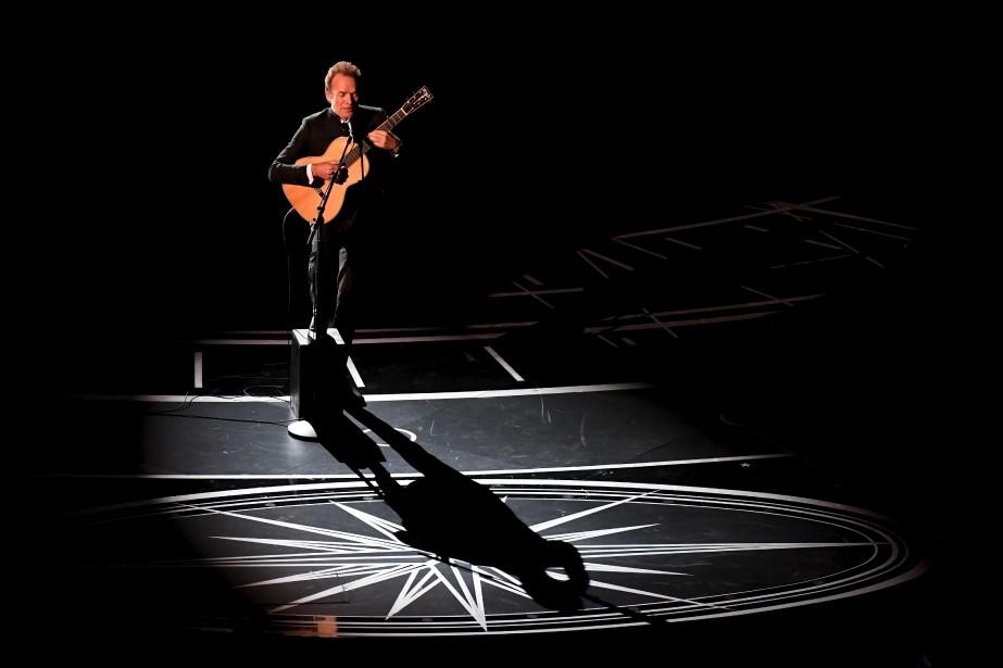 Sting a offert une prestation. | 26 février 2017