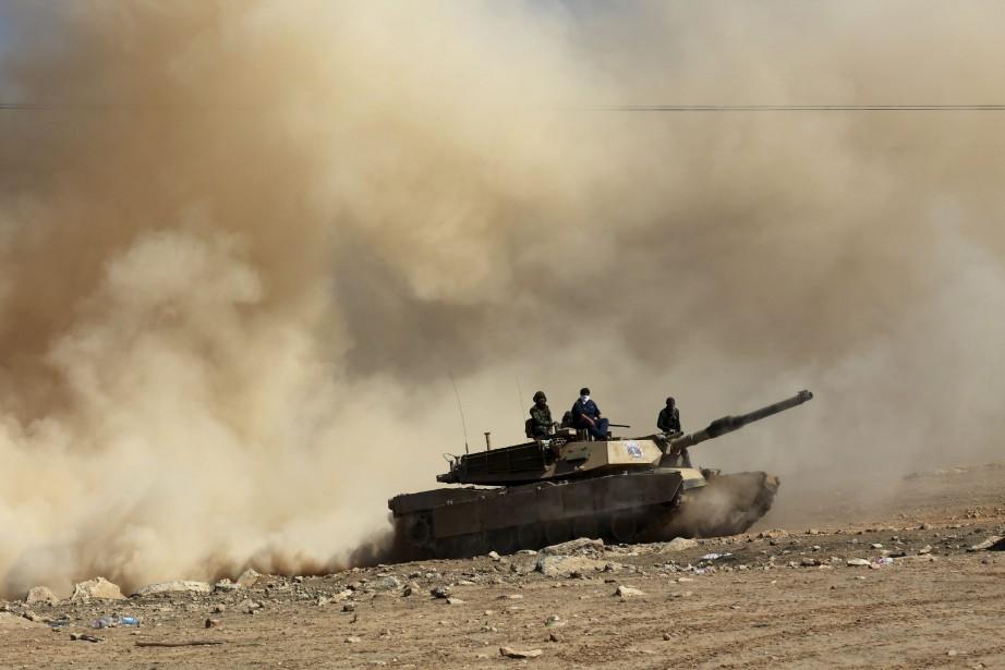 Les forces irakiennes ont conquis fin janvier la... (Photo Khalid Mohammed, Associated Press)