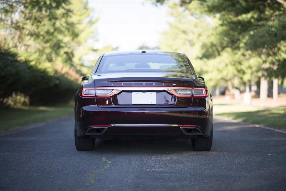 Lincoln Continental 2017. Pour essai routier de la semaine. Photo fournie par le constructeur ()