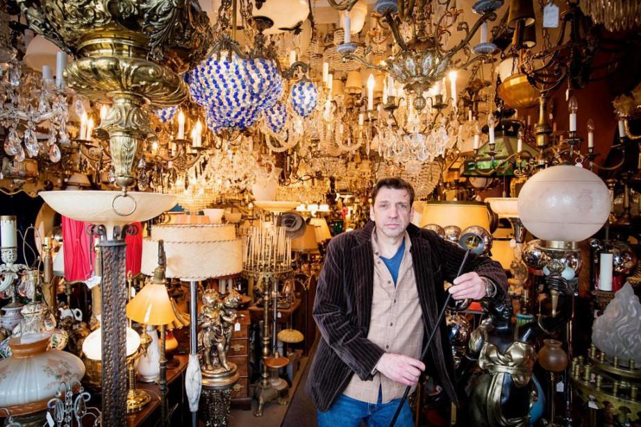 «J'ai loué ce local en 2010. Je m'en... (Photo Alain Roberge, La Presse)