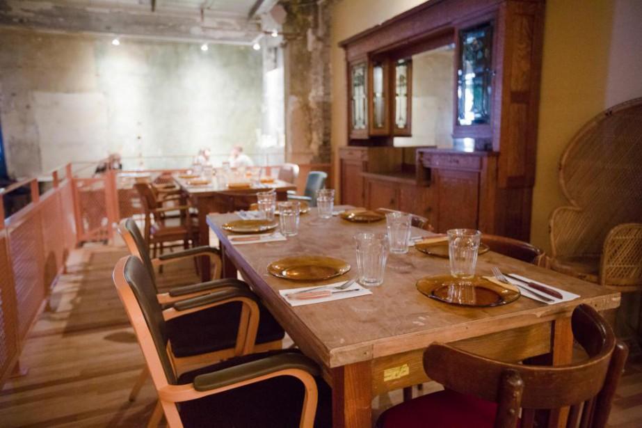 La nouvelle section du Café Parvis... (PHOTO NINON PEDNAULT, LA PRESSE)