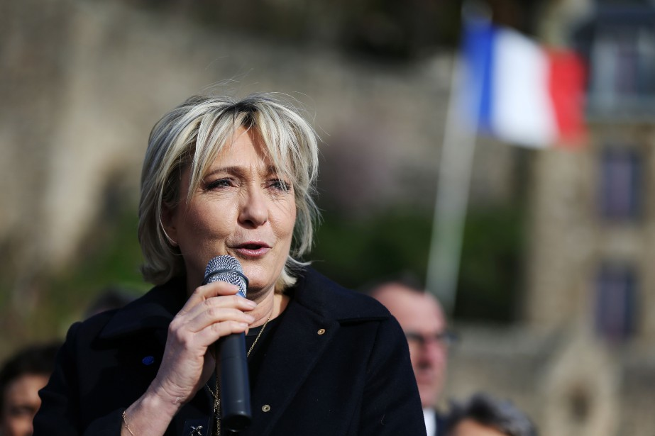 Marine Le Pen... (PHOTO CHARLY TRIBALLEAU, AGENCE FRANCE-PRESSE)