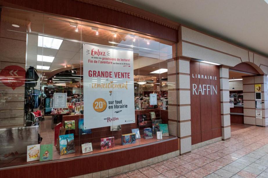 La librairieRaffin quittera définitivement les Galeries Rive Nord... (Photo Hugo-Sébastien Aubert, La Presse)