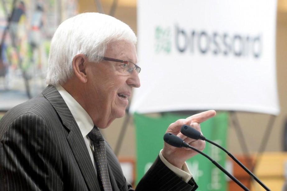 Paul Leduc, maire de Brossard... (PHOTO BERNARD BRAULT, ARCHIVES LA PRESSE)